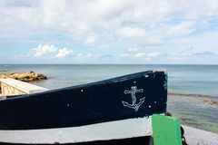 Łódź rybacka łęk Zdjęcie Royalty Free
