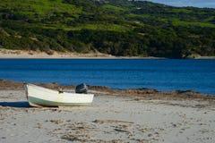 Łódź rybacka, Sardinia, Włochy zdjęcie stock