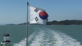 Łódź rybacka w Korea zbiory wideo