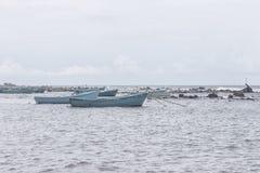 Łódź rybacka w Sri Lanka valvattithurai Obrazy Royalty Free