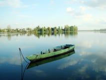 łódź samotna Obrazy Royalty Free