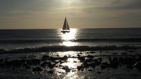łódź samotna Fotografia Royalty Free