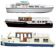 łódź silnik royalty ilustracja