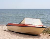 łódź stara Obrazy Royalty Free