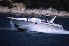 łódź szybkie Obrazy Stock