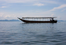 łódź tęsk Fotografia Royalty Free