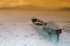 łódź trochę Obraz Royalty Free