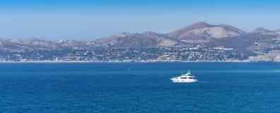 Łódź w Cabo San Lucas Fotografia Stock
