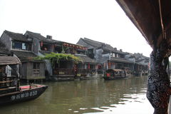 Łódź w Chiny Zdjęcia Royalty Free