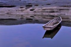Łódź w Meakong rzece obrazy stock