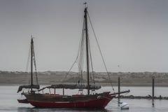 Łódź w Morro zatoce Obraz Stock