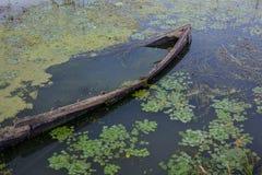 łódź zapadnięta Zdjęcie Royalty Free