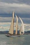 łódka żeglując Zdjęcie Royalty Free