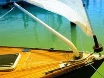 łódka żeglując Obraz Stock