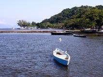 łódka guanabara cumujący bay obraz royalty free