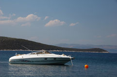 łódka luksusu silnika obraz stock