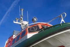 łódka nowoczesnego życia Zdjęcie Royalty Free