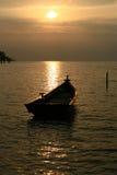 łódka słońca Fotografia Royalty Free