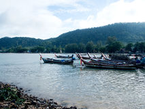 łódka tradycyjnego tajskiego obrazy stock