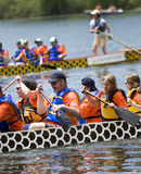 łódkowaci chrześcijańscy smoka dragonflies horyzonty obrazy stock