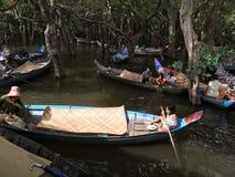 Łódkowaci jeźdzowie zdjęcia stock