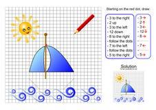 łódkowaci kierunki podążać ilustracji