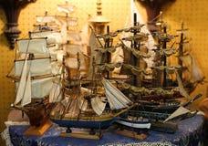 Łódkowaci modele obrazy stock