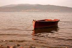 łódkowata czerwień zdjęcia stock