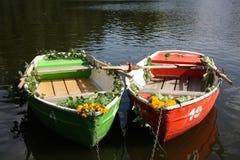 łódkowata para Obrazy Royalty Free
