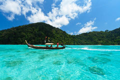 łódkowata podróż Fotografia Stock