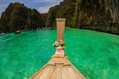 Łódkowata podróż przy Phi phi wyspami Zdjęcia Stock