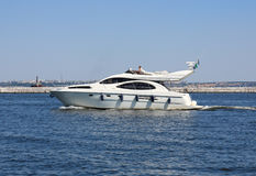 łódkowata prędkość Fotografia Royalty Free