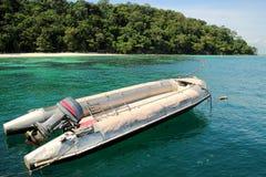 łódkowata prędkość fotografia stock