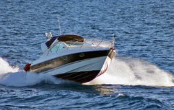 łódkowata prędkość Obrazy Stock
