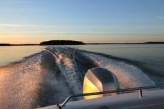 łódkowata przejażdżka Obraz Stock