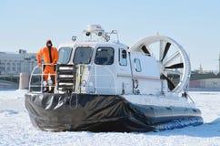 Łódkowata ratownicza usługa Rosja fotografia stock