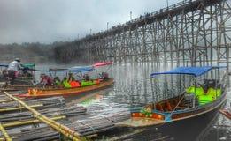 łódkowata wieś Zdjęcie Stock