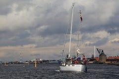 Łódkowata wycieczka wokoło Kopenhaga Obrazy Stock