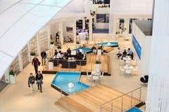 Łódkowata wystawa 2015 w Duesseldorf, Niemcy Obrazy Royalty Free