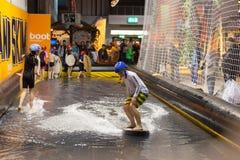 Łódkowata wystawa 2015 w Duesseldorf, Niemcy Fotografia Royalty Free