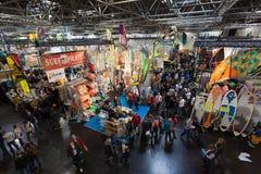Łódkowata wystawa 2015 w Duesseldorf, Niemcy Obraz Stock