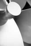 Łódkowatego Śmigłowego zakończenie szczegółu ładna technika Obrazy Stock