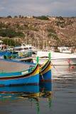 łódkowatego połowu łódkowaty tradycyjny zdjęcie royalty free