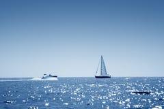 łódkowaty żagiel Fotografia Royalty Free