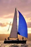 łódkowaty żagiel Obrazy Royalty Free