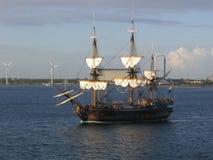 łódkowaty żagiel Zdjęcia Royalty Free