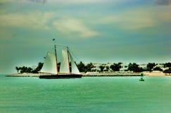 łódkowaty żagiel Obraz Royalty Free