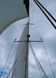 łódkowaty żagiel Zdjęcia Stock