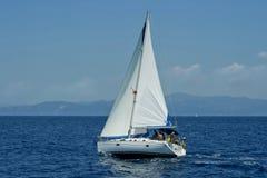 łódkowaty żeglowanie Fotografia Royalty Free