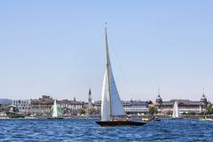 łódkowaty żeglowanie zdjęcie royalty free
